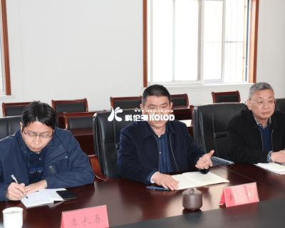 连云港市总工会党组书记丁维杰莅临江苏科伦多调研工作