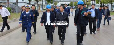 连云港市常务副市长王加培莅临科伦多公司检查指导