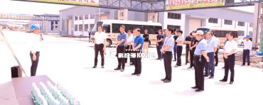灌云县人大常委会副主任郭家登带队视察参观科洛吉和沙英喜公司
